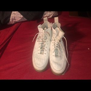 Nike Special-Force 1/SF-1 --White and olive--worn
